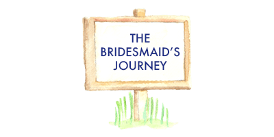 The Bridesmaid's Journey in the wedding car