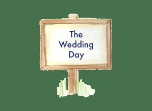 Chauffeur driven wedding car transport for the wedding day