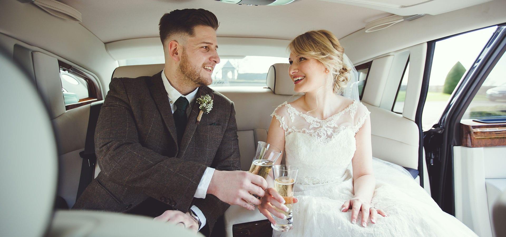 Bride-Groom-Rolls-Royce-Phantom-Wedding-Car-Champagne