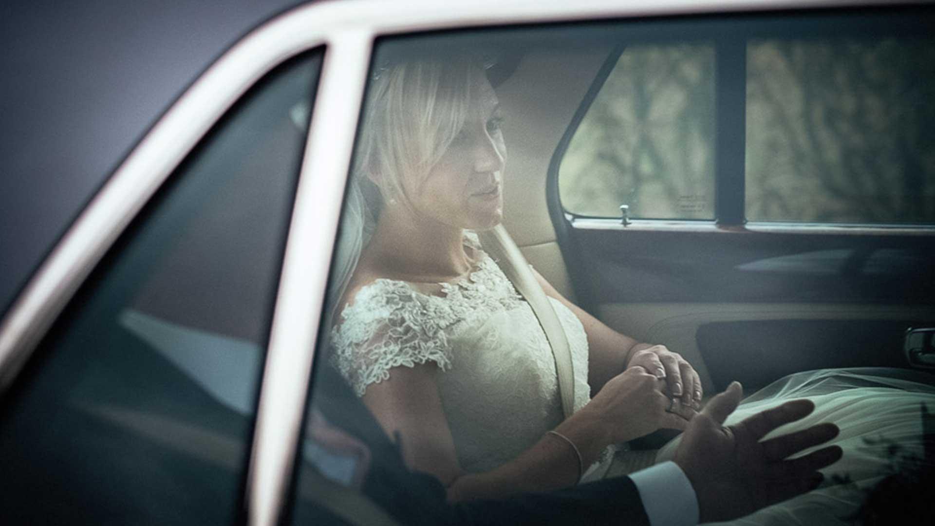 Sophie in the Bentley Arnage