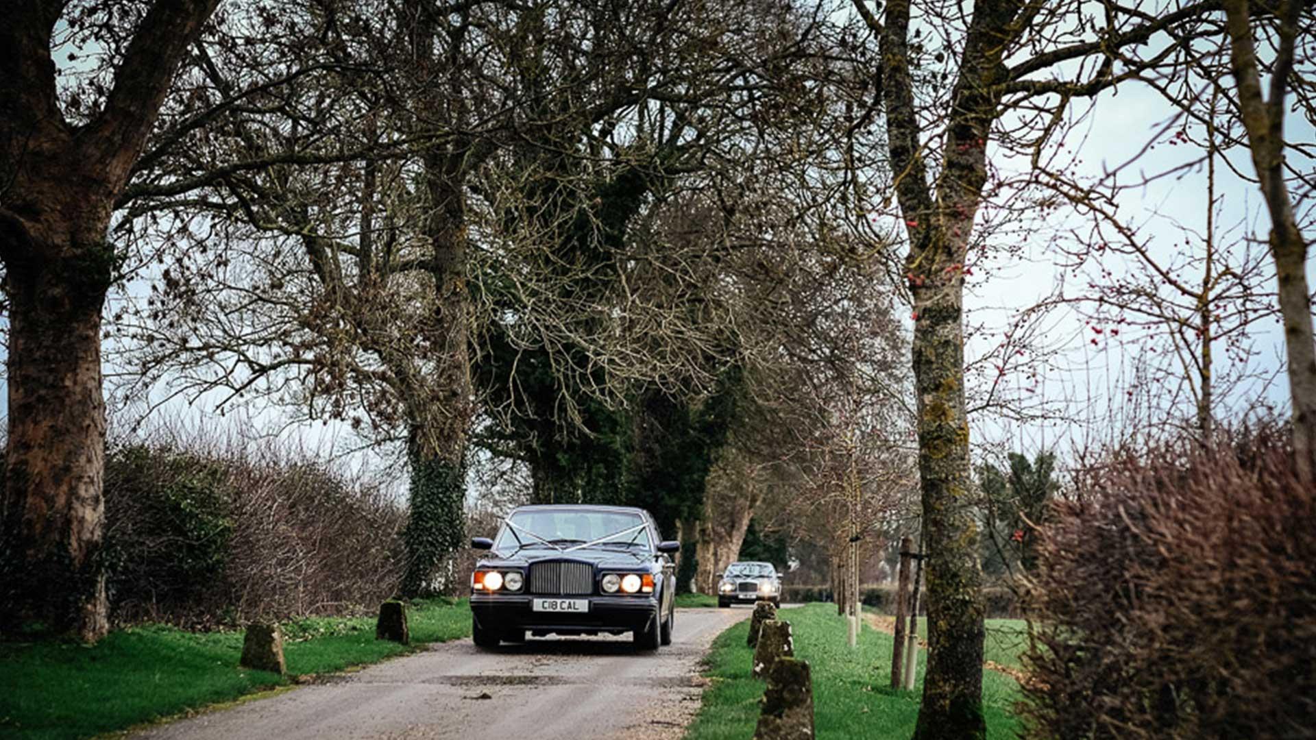 Bentley Brooklands and Arnage arrival