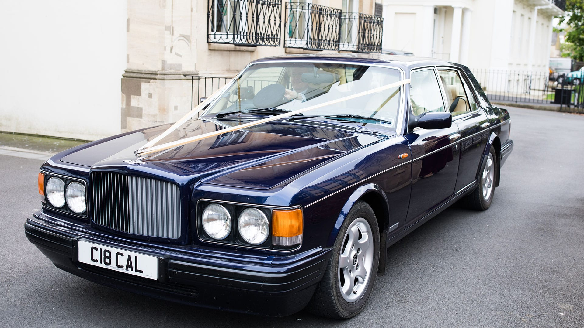 Bentley Brooklands Wedding Car in Peacock Blue