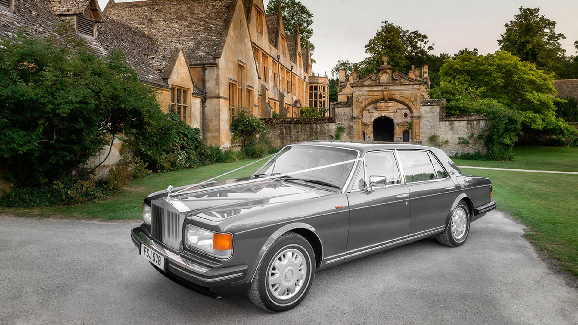 Rolls-Royce Flying Spur Wedding Car