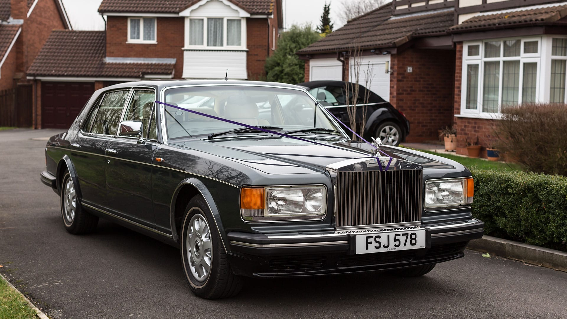 The Rolls-Royce Flying Spur wedding car