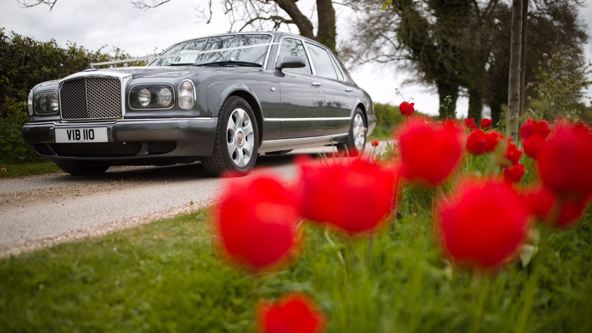 Azure's Bentley Arnage wedding car