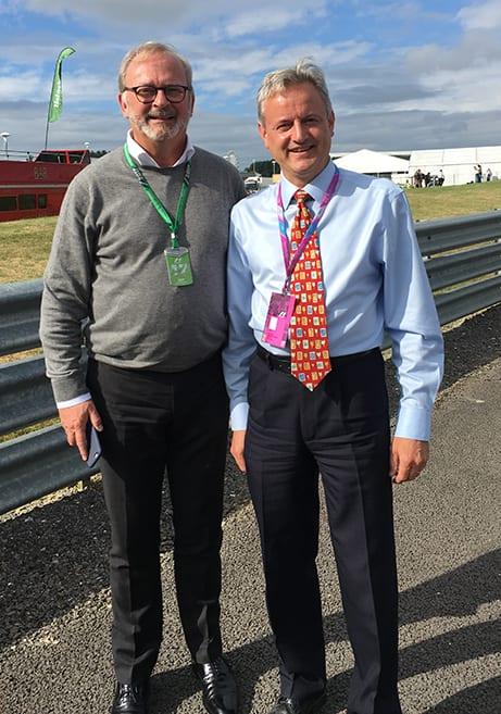 David Keffler and Didier Coton