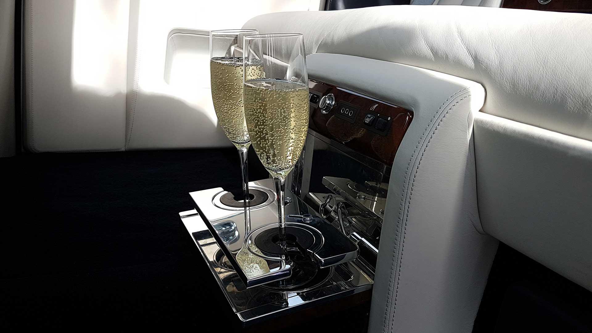 Rolls-Royce Phantom Sapphire Bespoke Champagne Holder