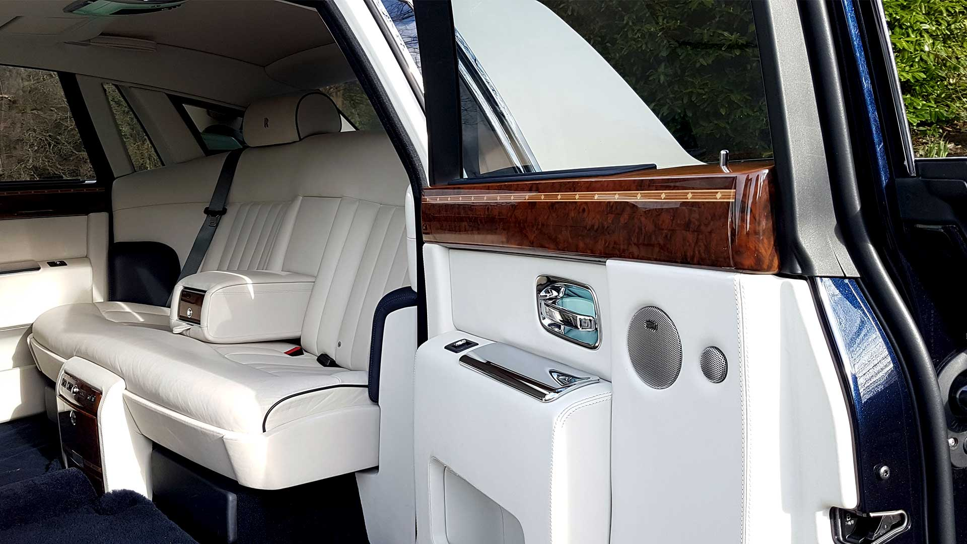 Rolls-Royce Phantom Rear Opening Door with Walnut Marquetry